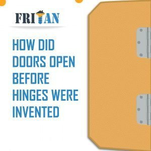 How Did Doors Open Before Hinges Were Invented