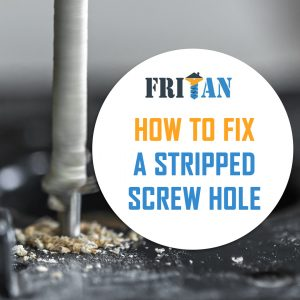 How to Fix a Stripped Screw Hole